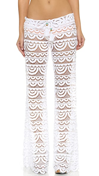 Pilyq Malibu Lace Pants - White