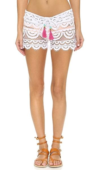 Pilyq Lexi Shorts - White