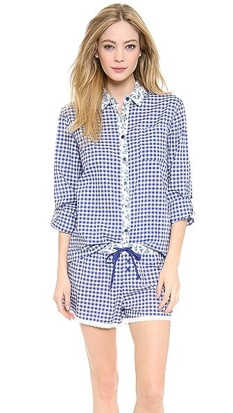 PJ LUXE Aqua Marine PJ Shirt