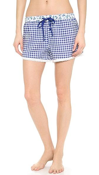 PJ LUXE Aquamarine PJ Shorts