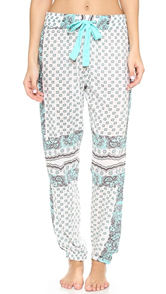 PJ LUXE Printed PJ Pants