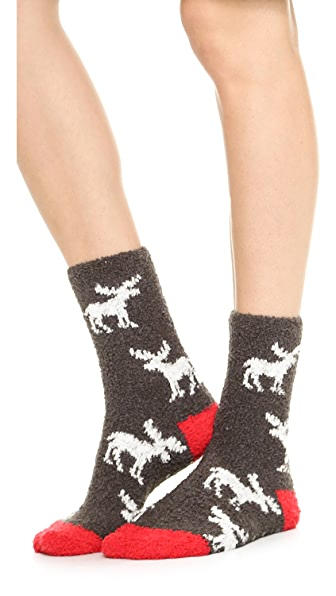 PJ Salvage Moose Socks