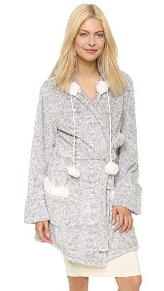 PJ Salvage PJ Salvage Shades Of Grey Cozy Robe