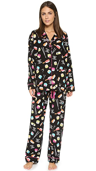 Start the weekend off right by slipping into the super cute and comfortable P.J. Salvage® PJ Set.