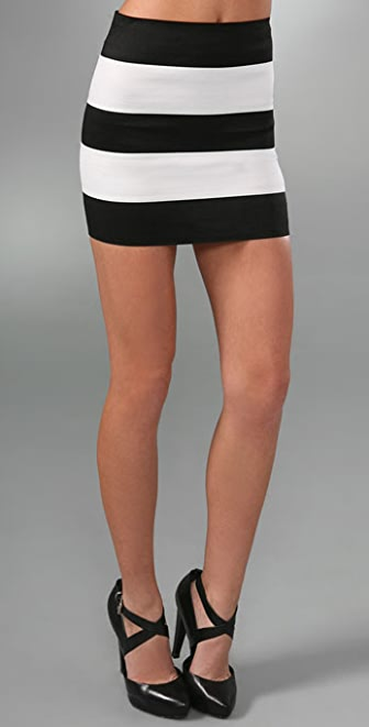 Pleasure doing business 5 Band Miniskirt