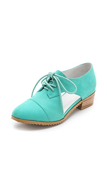 Plomo Marlene Open Oxfords