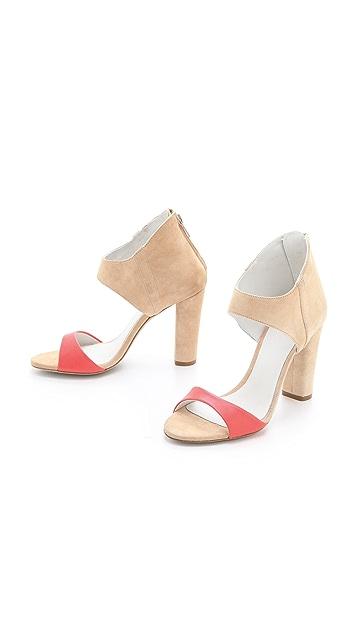Plomo Claudia Suede Sandals