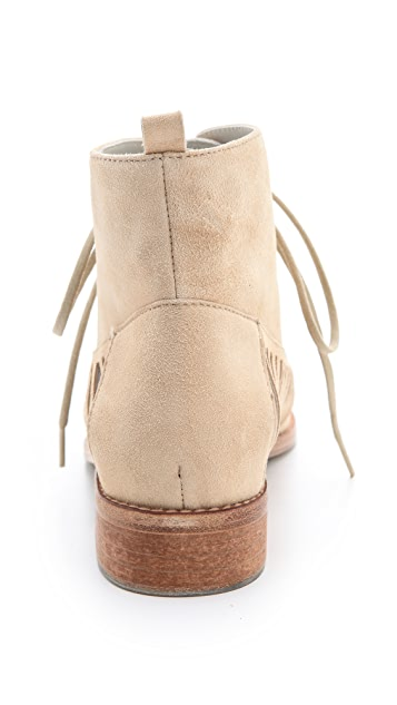 Plomo Yvonna Slashed Suede Booties