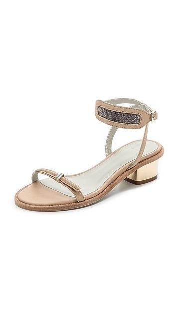Plomo Jaquenetta Low Heel Sandals