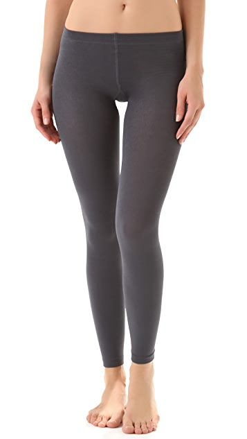 Plush Fleece Lined Footless Tights