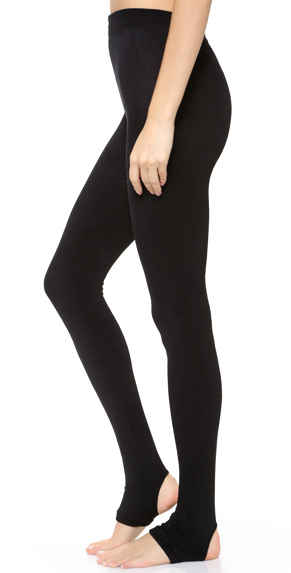 Fleece Lined Tights with Stirrup Plush