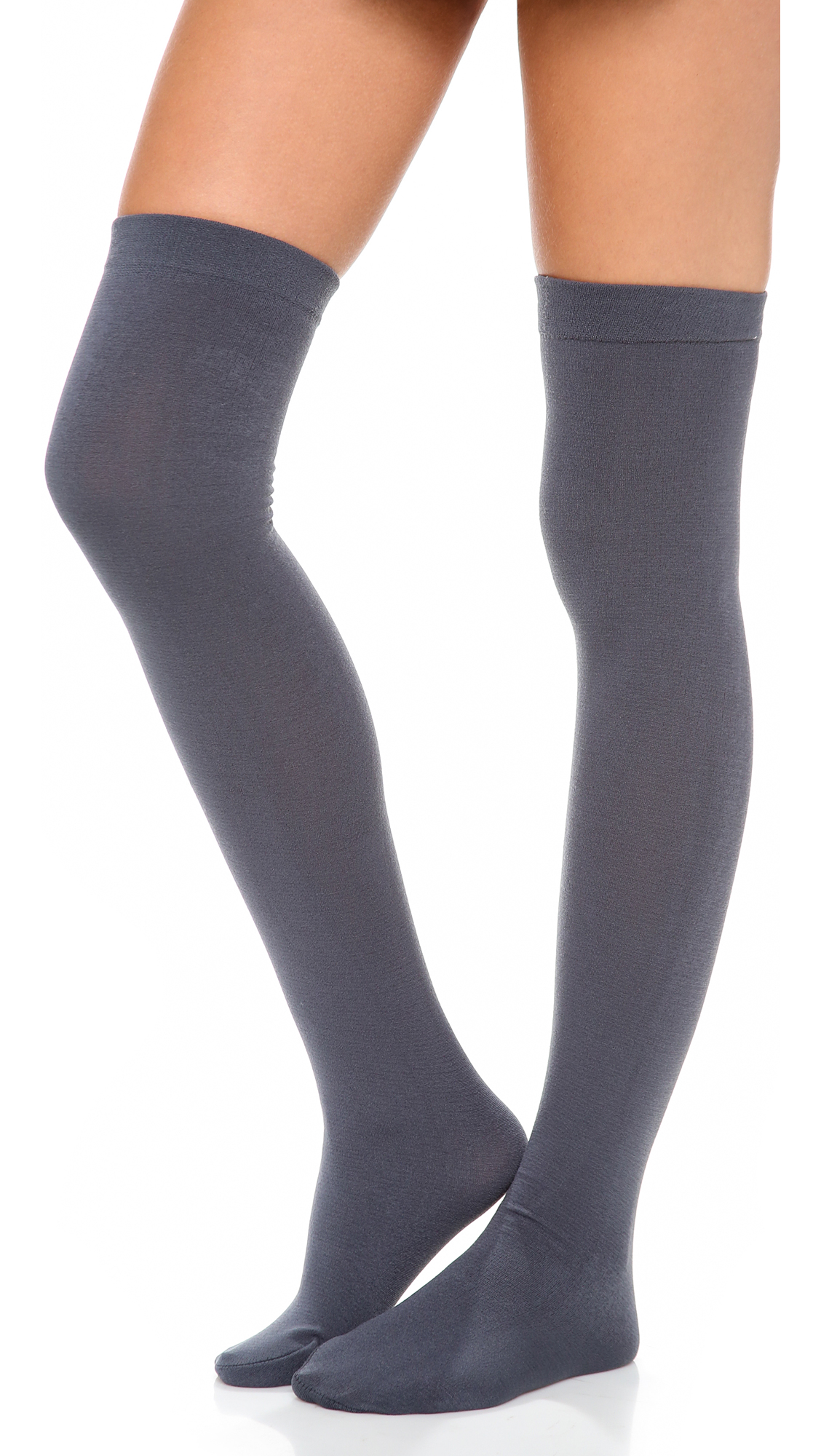 c72ec6361 Plush Fleece Lined Thigh Highs