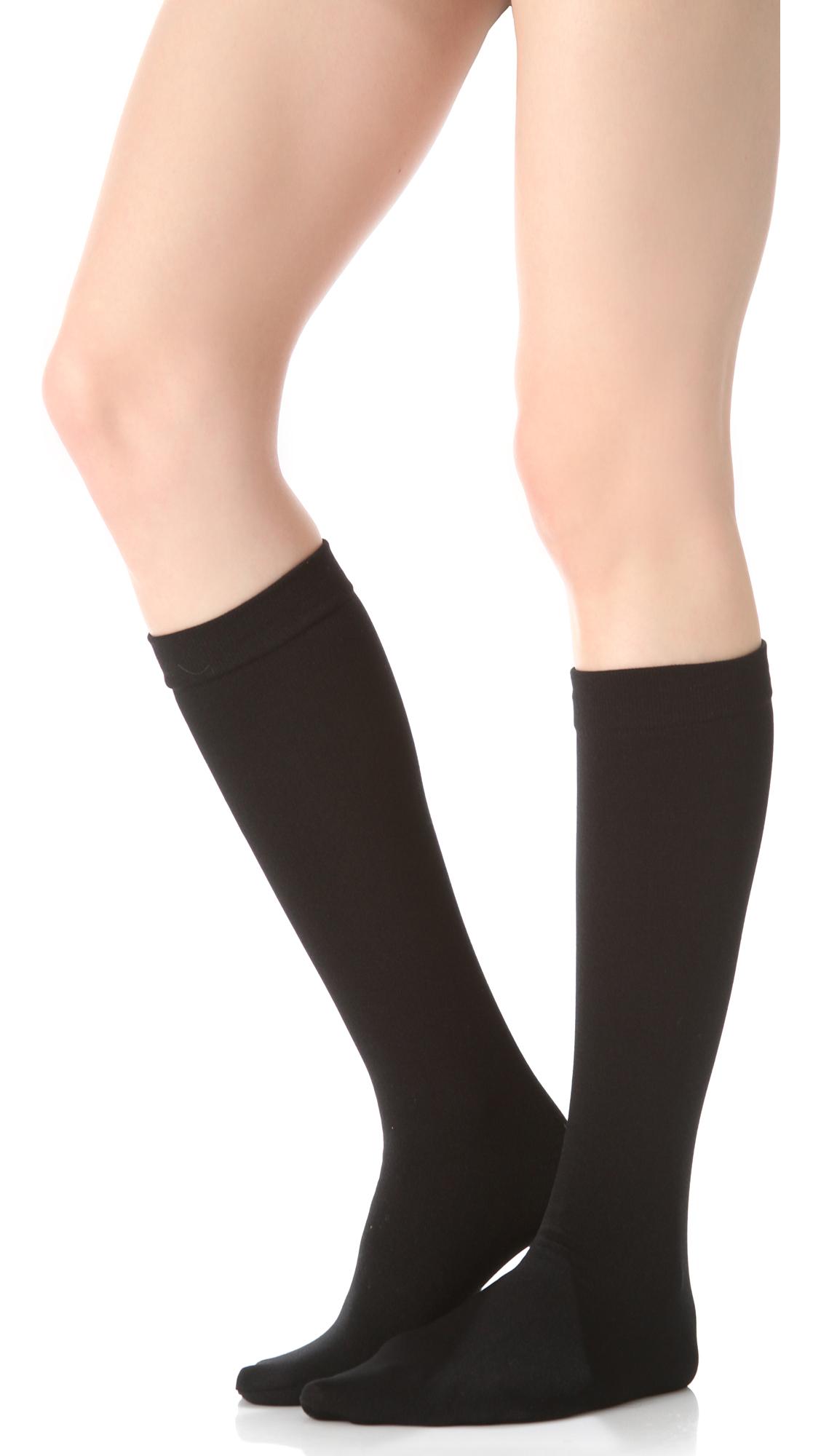 91dde26aa18 Plush Fleece Lined Knee High Socks