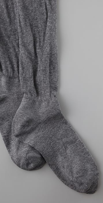 Plush Sheer Socks