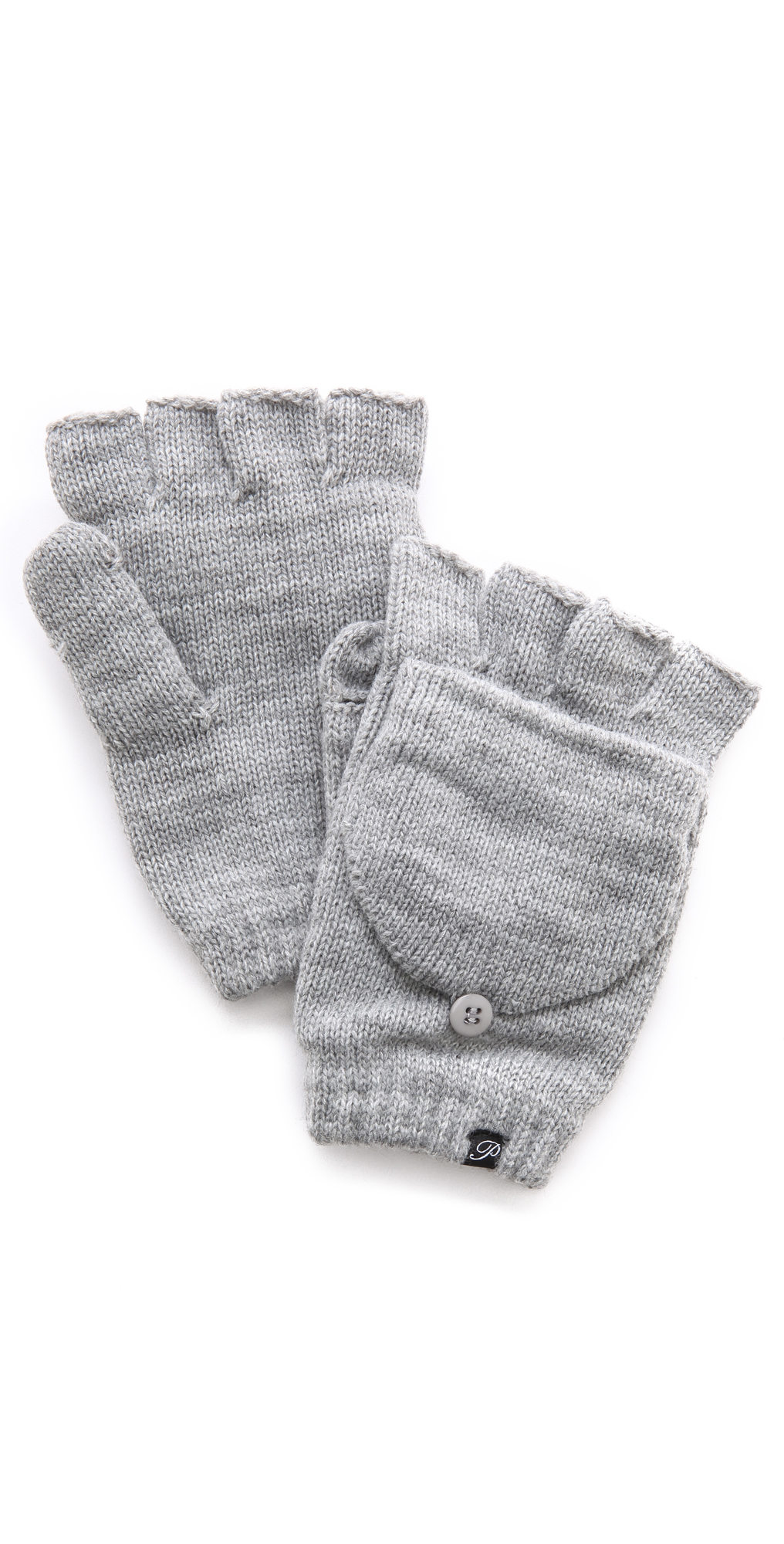 Fleece Lined Texting Mittens Plush