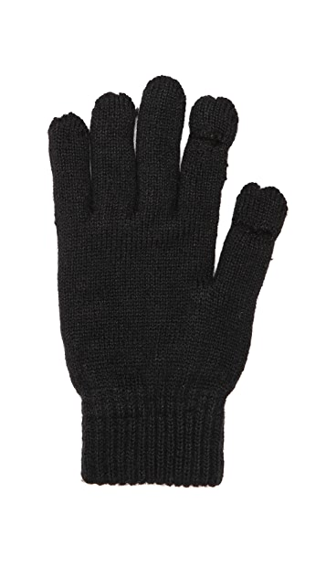 Plush Fleece Lined Smartphone Gloves