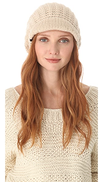 Plush Fleece Lined Brim Hat