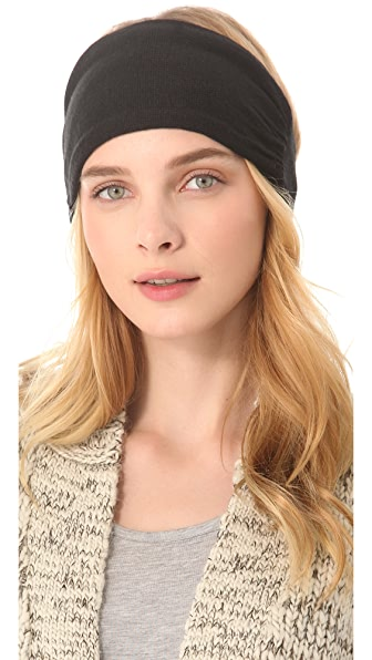 Plush Fleece Lined Knit Headband