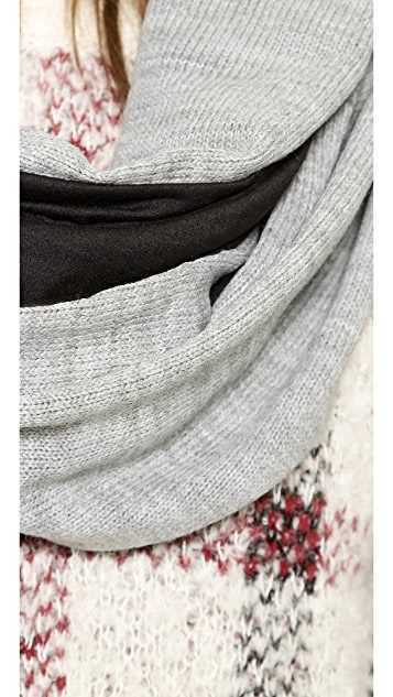 Plush Lined Infinity Scarf