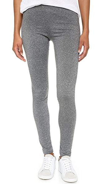 Plush Marled Fleece Lined Leggings