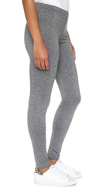 Plush Marled Fleece Lined Leggings