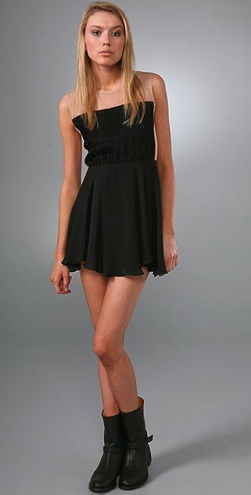 Pencey Accordion Dress