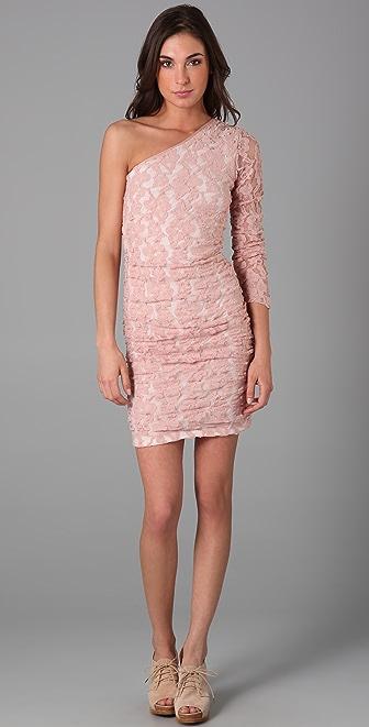 Pencey One Shoulder Dress