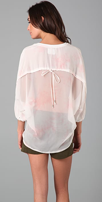 Pencey Tie Dye Sobo Top