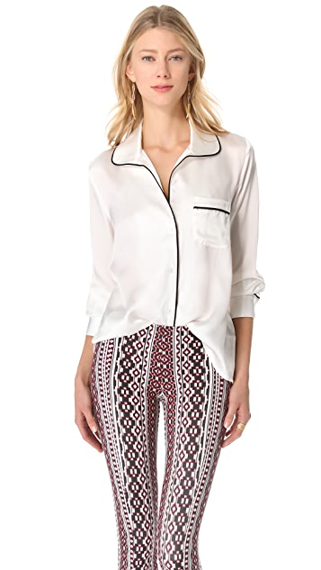 Pencey Lounge Blouse