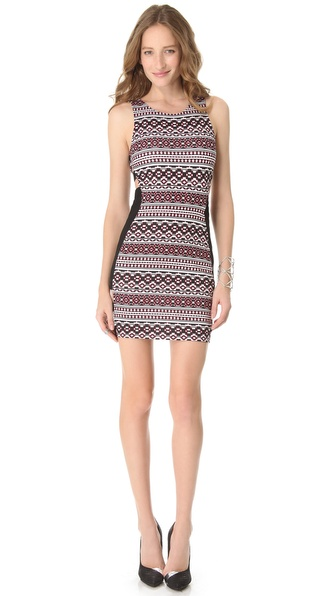 Pencey Open Sides Printed Dress