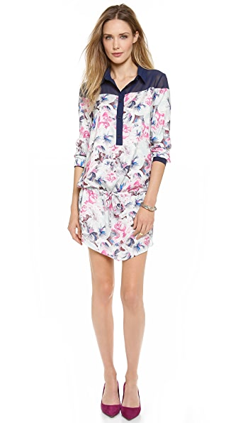 Pencey Karolina Floral Shirt Dress