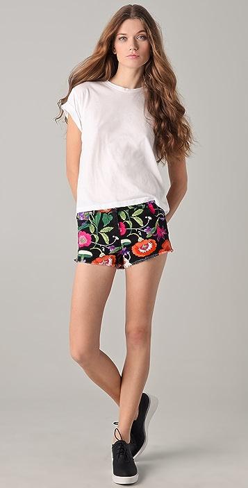 Pencey Standard Jessica Hart for Pencey Standard Denim Shorts