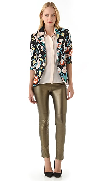 Pencey Standard One Button Blazer by Jessica Hart for Pencey Standard
