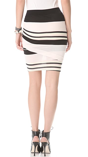Pencey Standard Panel Twist Skirt