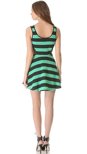 Pencey Standard Inset Flare Mini Dress