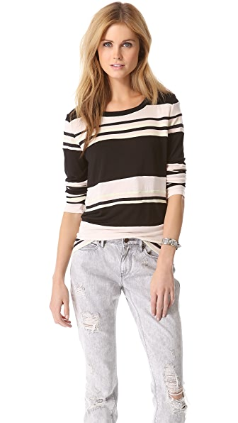 Pencey Standard Combo Stripe Top