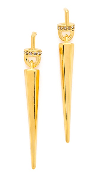Paige Novick Pave Stiletto Earrings