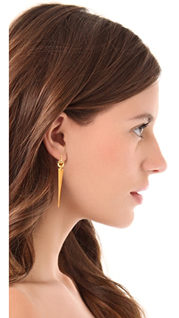 Paige Novick Pave Stiletto Earrings