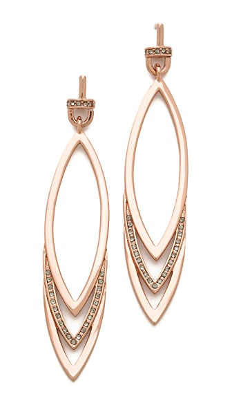 Paige Novick Triple Marquis Earrings