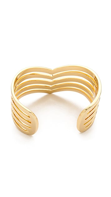 Paige Novick 5 Row Pointed Cuff Bracelet