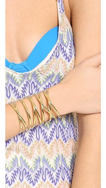 Paige Novick Open X Cross Cuff Bracelet