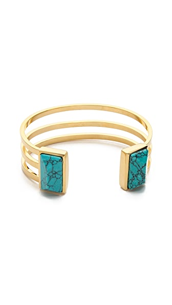 Paige Novick Isabelle Collection Stone Inset Cuff Bracelet