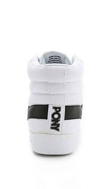 PONY Slam Dunk High Top Sneakers