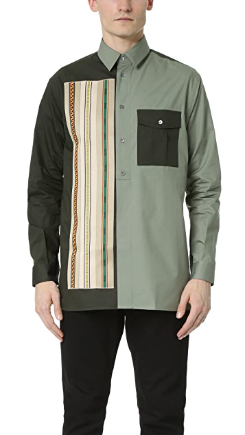 Ports 1961 Embroidered Military Shirt