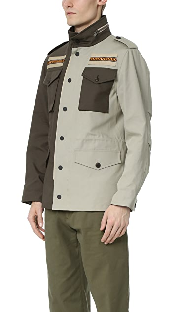 Ports 1961 Embroidered M65 Jacket