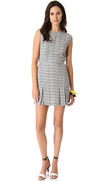 Porter Grey Open Back Dress