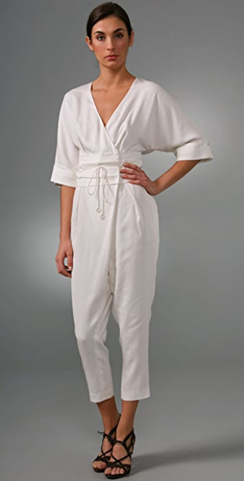 Ports 1961 Jumpsuit with Obi Waist