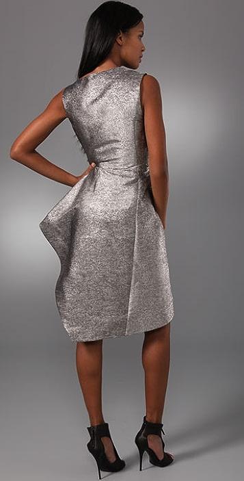 Ports 1961 Sculpted Sleeveless Dress