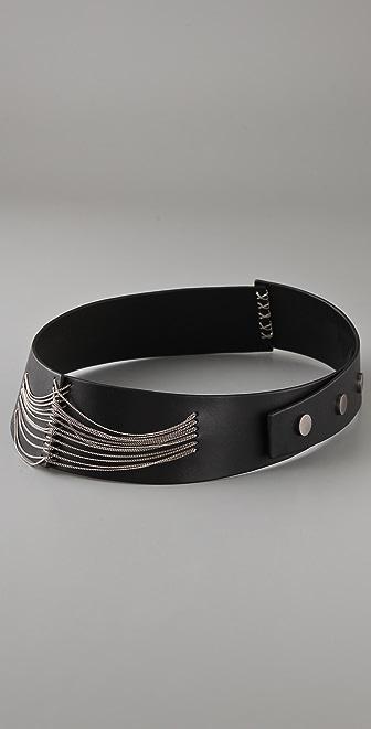 Ports 1961 Chain Embellished Belt