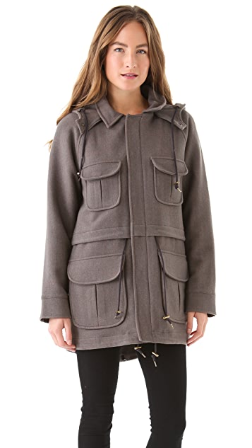 Pendleton, The Portland Collection Anorak with Detachable Hood